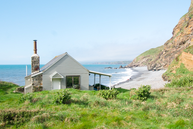 Beach Hut Cornwall kate Winslet