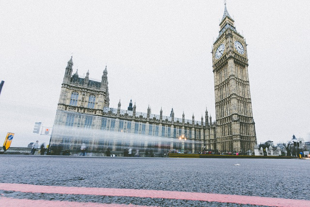 Munter mitgereist…nach London mit die bahrnausen