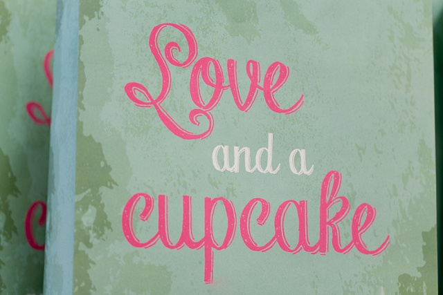 Love and a cupcake