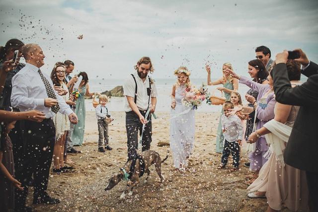 Boho Hochzeit Strand