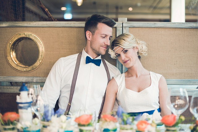 Maritim Heiraten mit Vintage Flair von Passiamour