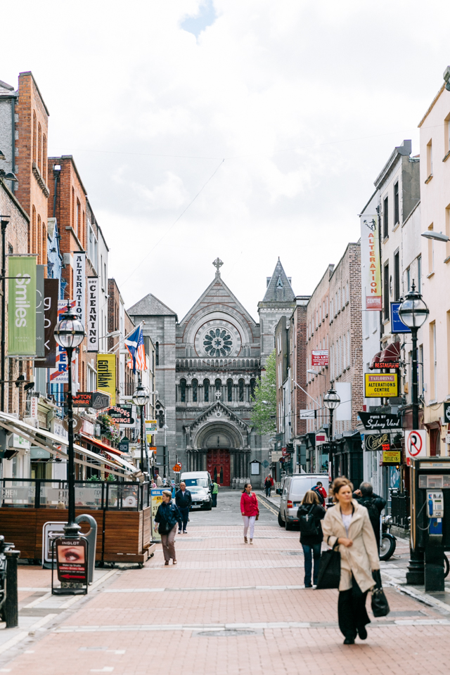 Dublin Sehenswürdigkeiten Grafton Street
