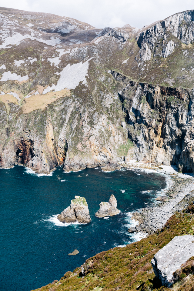 Slieve League Klippen Irland Meer Donegal