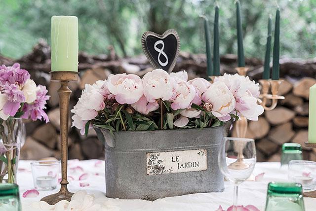 Tischnummer Hochzeit Tafel