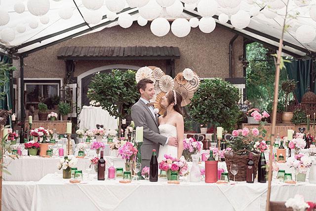 Bunte Vintage Hochzeit von Sarah Bel Photography