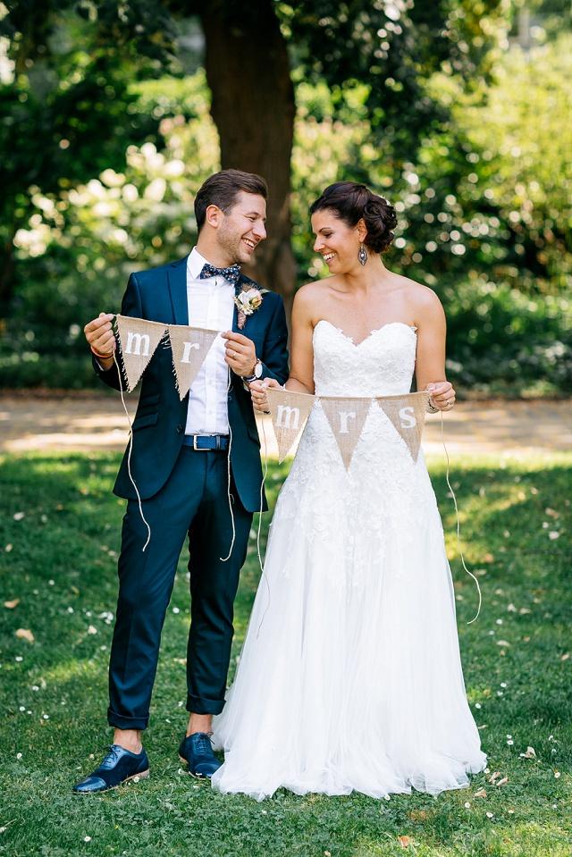 Hochzeitsfoto Mr Mrs