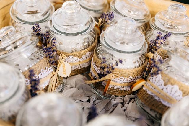 Hochzeit Lavendel gastgeschenke