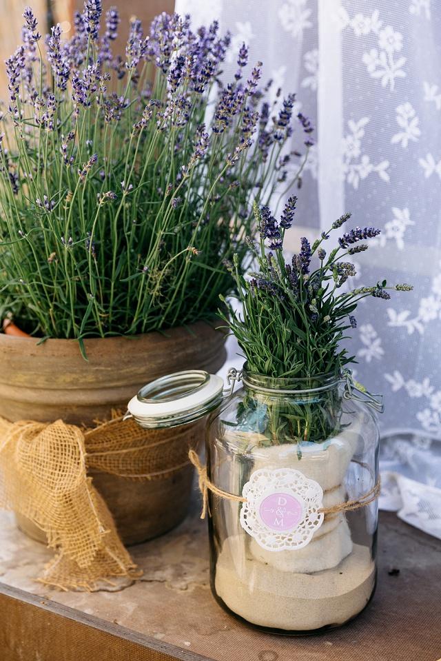 Hochzeit Boho Lavendel