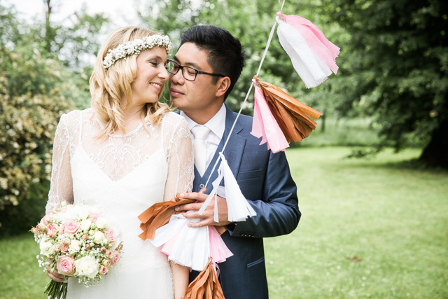 Liebevolle DIY Gartenhochzeit mit Inspirationen von 'The little Wedding Corner' von Sarah Katharina