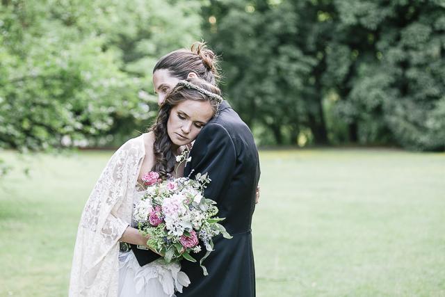 Seid ihr selbst! Boho Hochzeit und mit Konventionen brechen von Jane Weber
