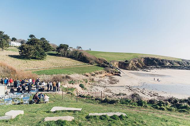 Porthcurnick Beach Cornwall