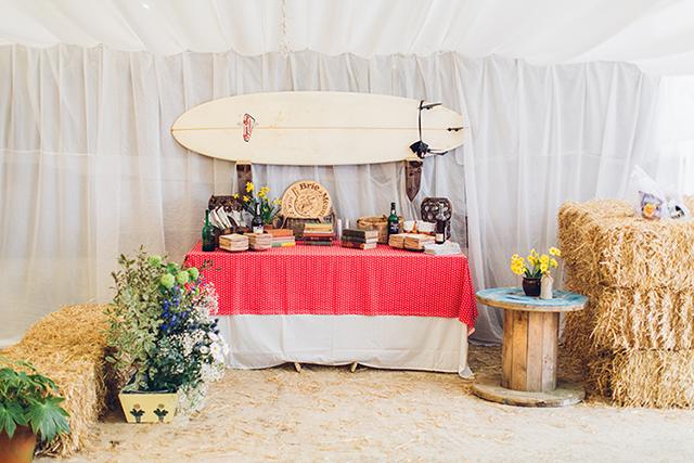 maritime Hochzeit Dekoration Bar