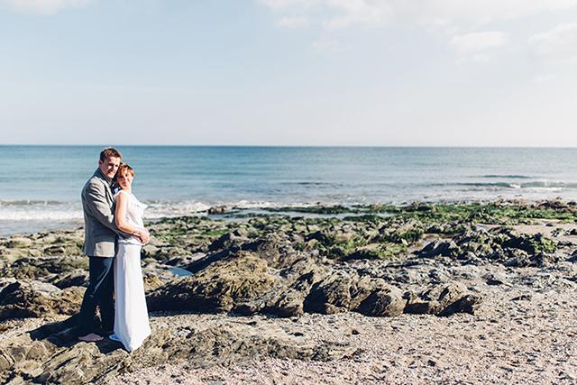 DIY Hochzeit am Meer von Miss Gen Photography