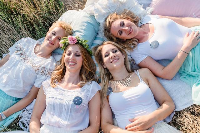 Fröhliche DIY Bridal Party von Marie Bleyer