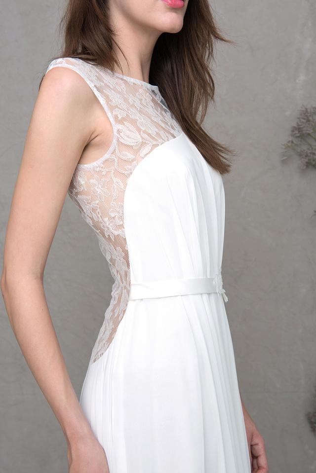 Brautkleid schöner Rücken