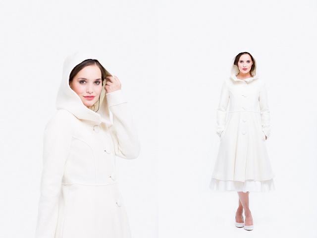 Brautkleid Mantel Winter
