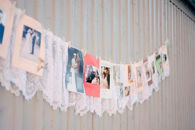 Hochzeit Girlande Fotos