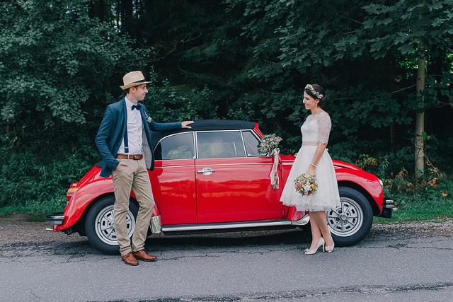 VW Käfer Hochzeit