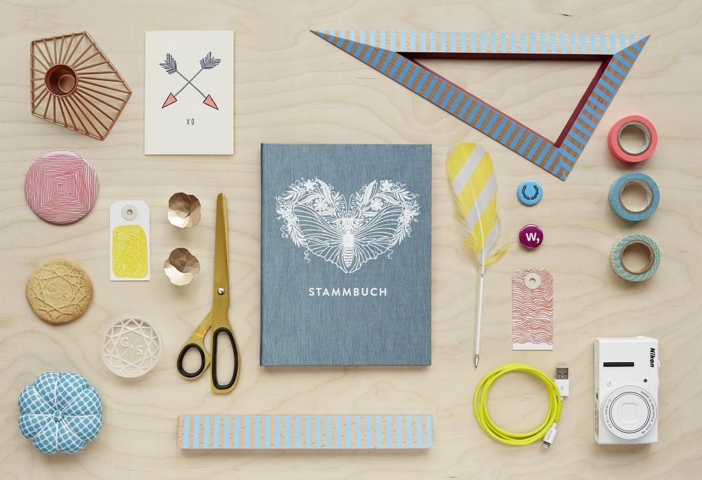 Greta Stammbuch für die Hochzeit von Glück & Segen