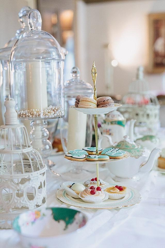 Parisian Chic Hochzeit Tischdekoration