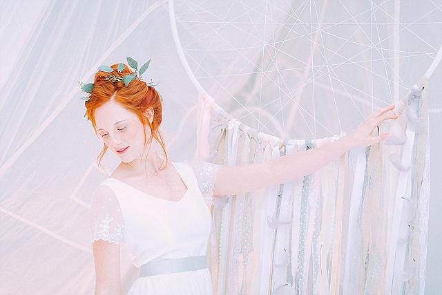 noni federleicht Brautkleid