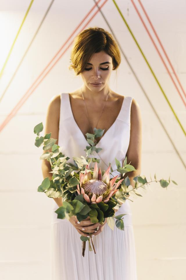Brautstrauß Protea