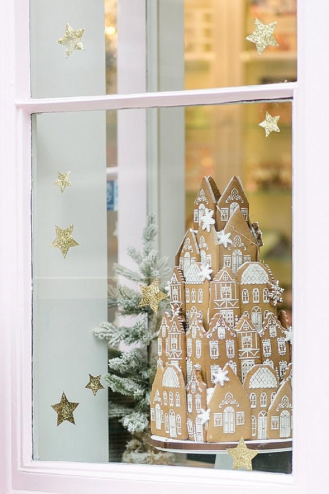 Weihnachten London mit dem Schaufenster von Peggy Porschen