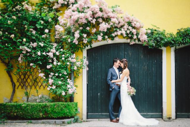 Hochzeit Rosengarten