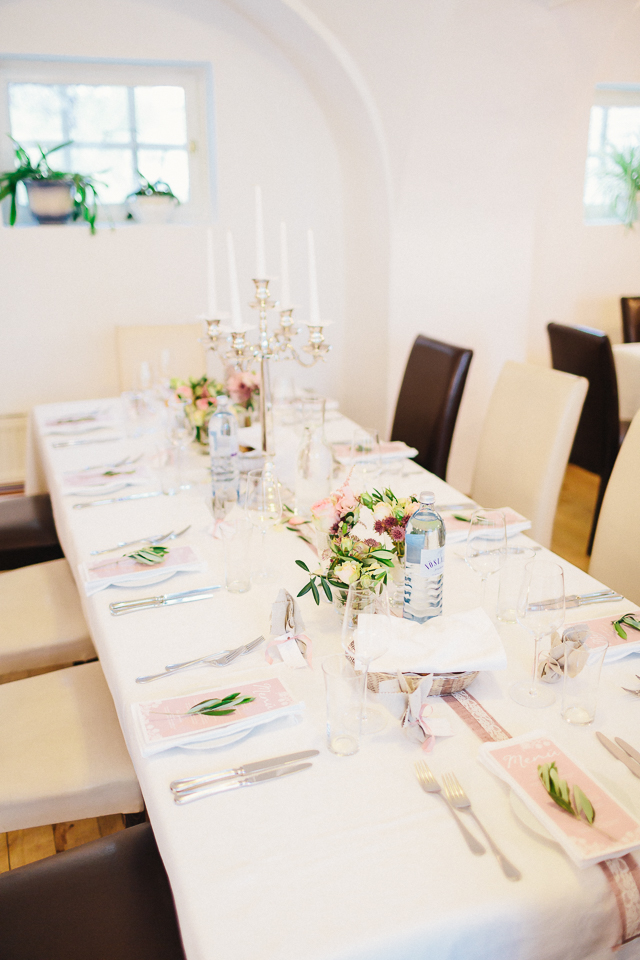 Tischdeko Hochzeit mediterran