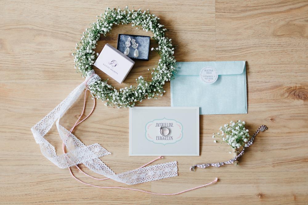 Schleierkraut Haarkranz Hochzeit