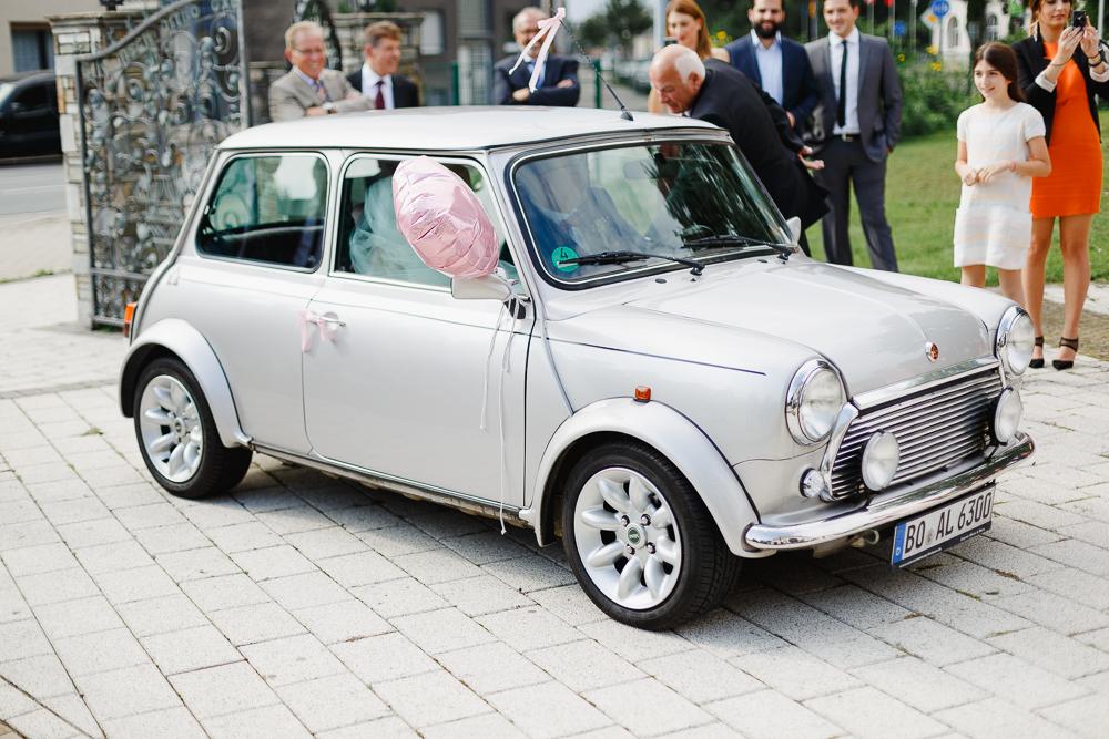 Hochzeitsauto Mini Cooper