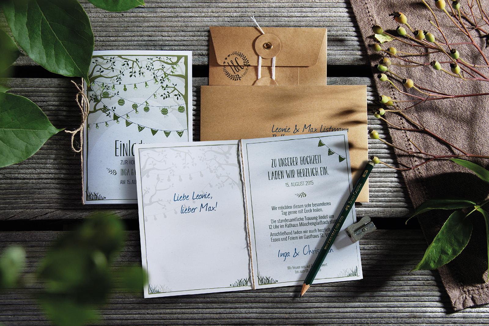 2 Hochzeitskarte Einladung Hochzeitseinladung Hochzeitskartendesign Gartentraum Gartenfest Ba╠  ...