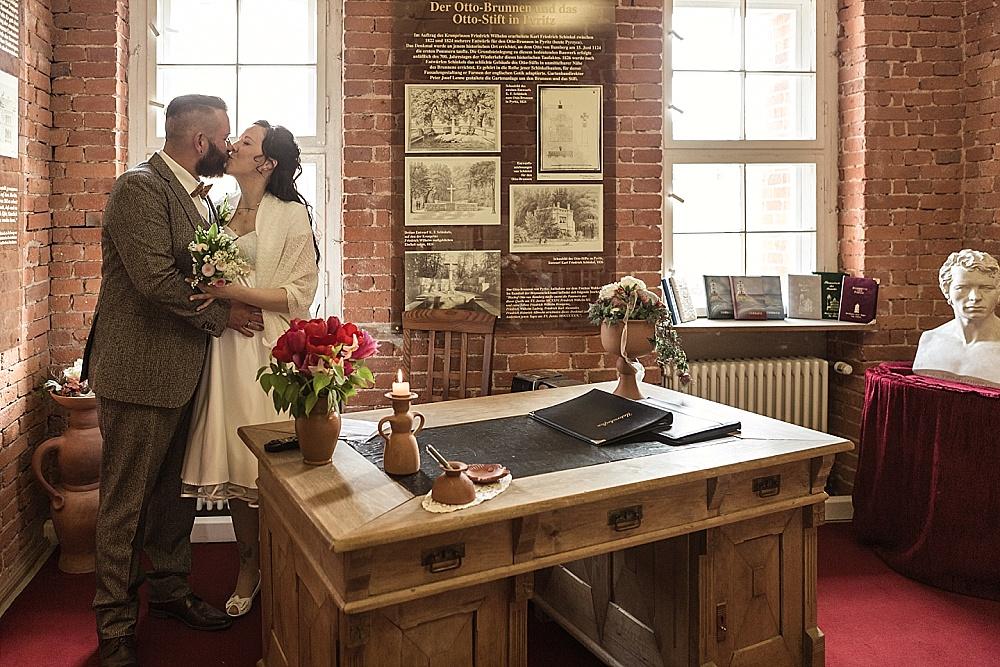 Hochzeit Rügen Standesamt Schinkelturm