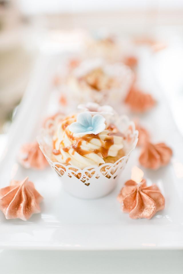 Cupcake Caramel Hochzeit