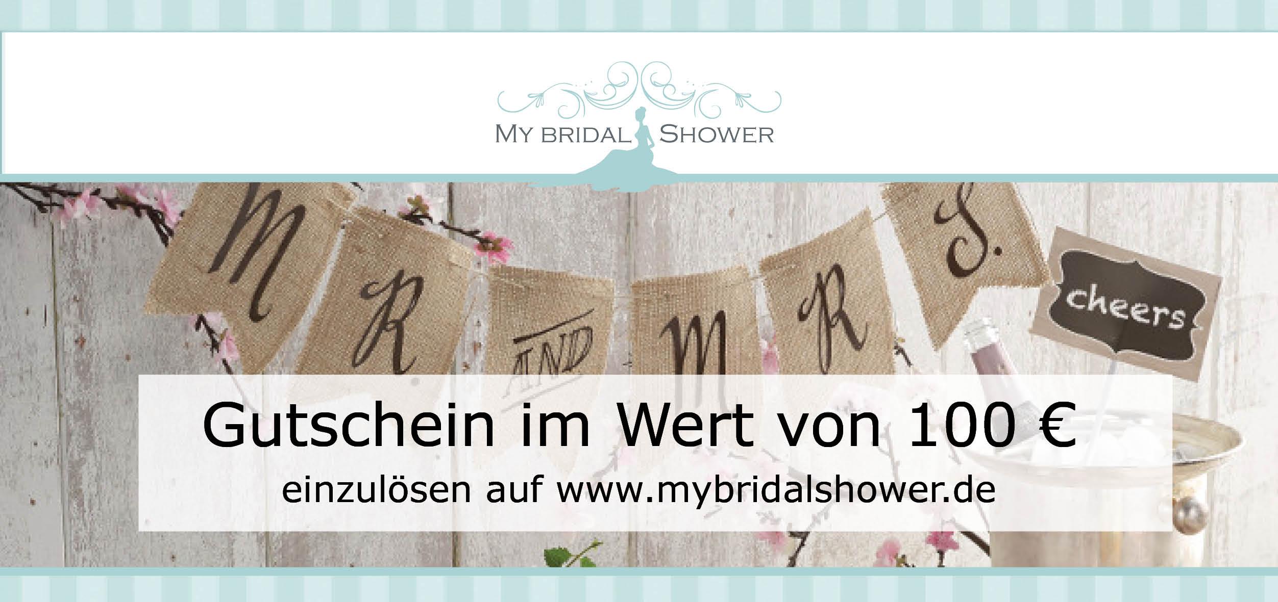 Gewinnspiel-Gutschein MBS 100€ Little Wedding Corner