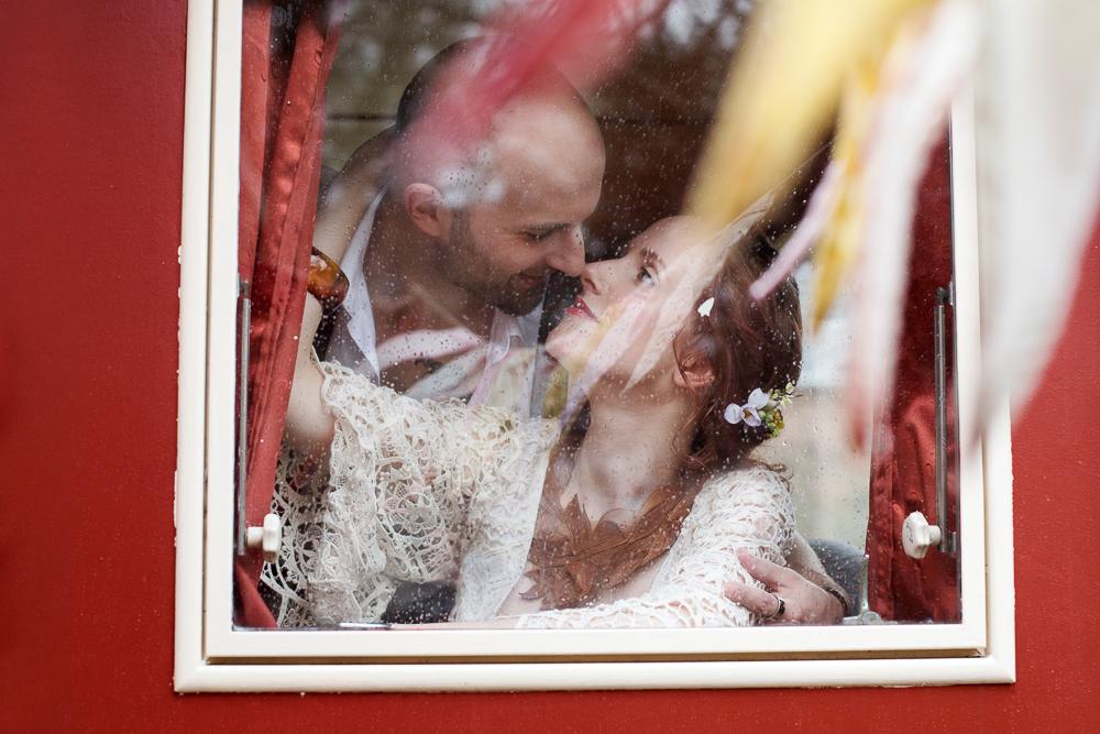 Festival Hochzeit im bunten Hippie Look