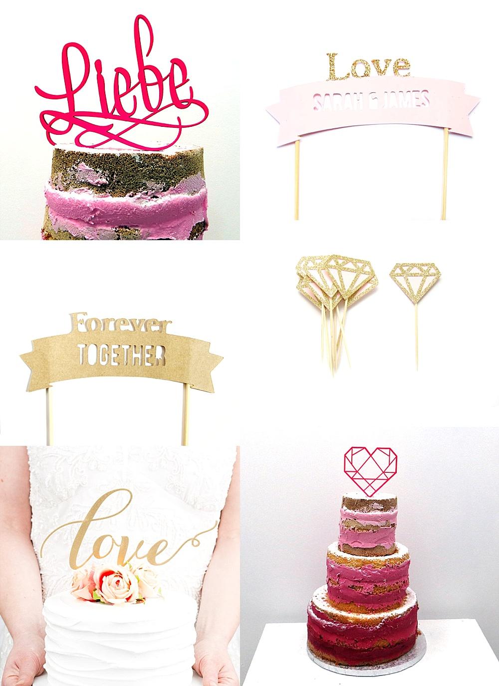 Cake Topper Etsy Hochzeit