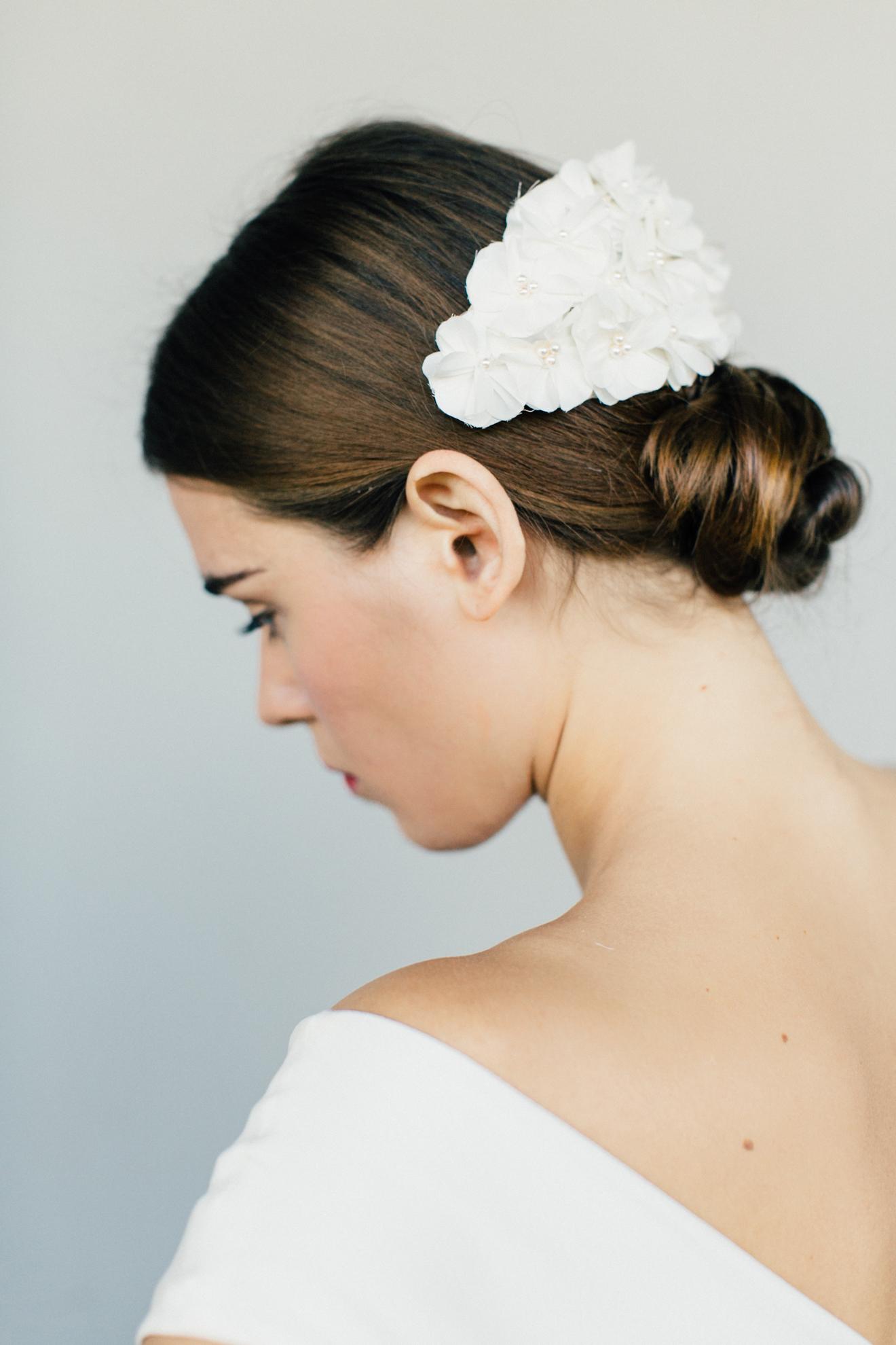 Haarblüte Hochzeit BelleJulie