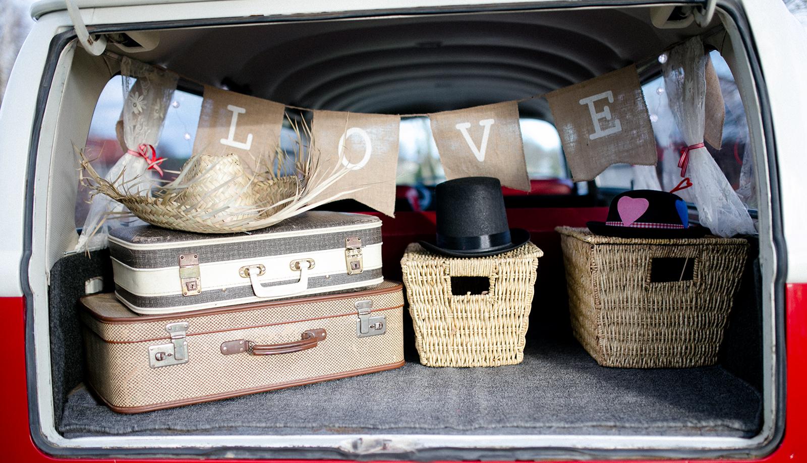 VW Bulli als Fotobox Photobooth Hochzeiten und Feiern Süddeutschland