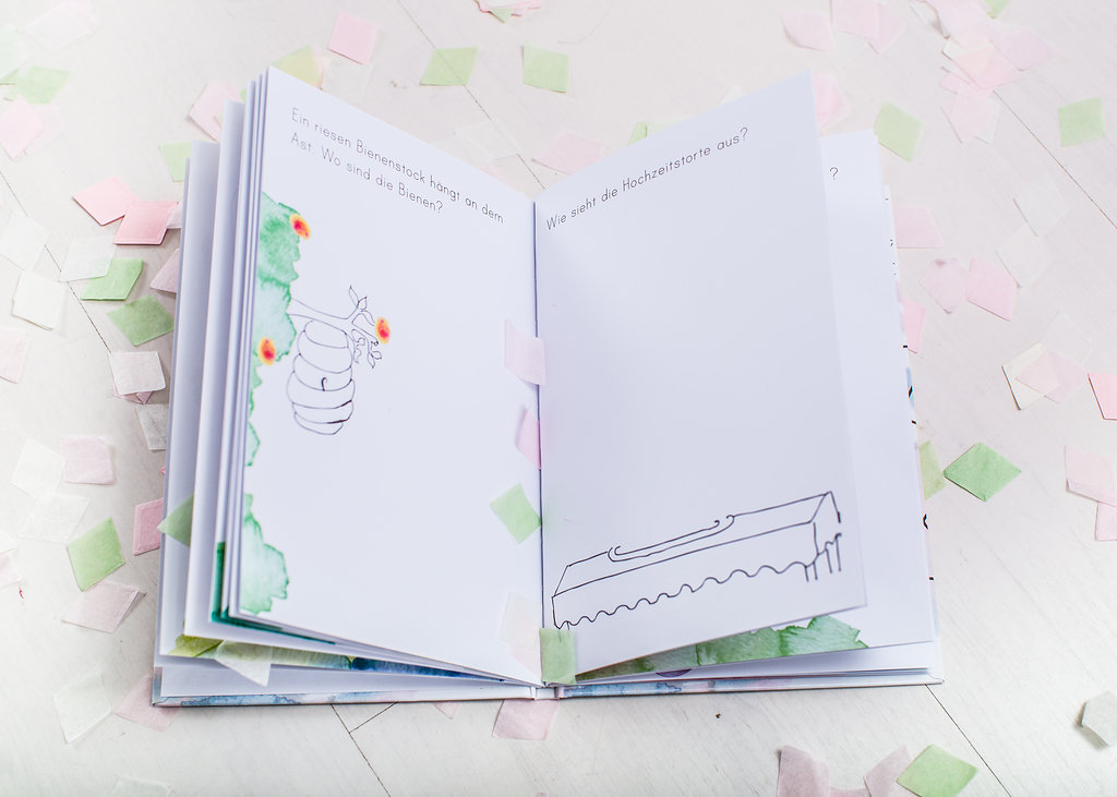 Hochzeit Kinderbeschäftigung Malbuch
