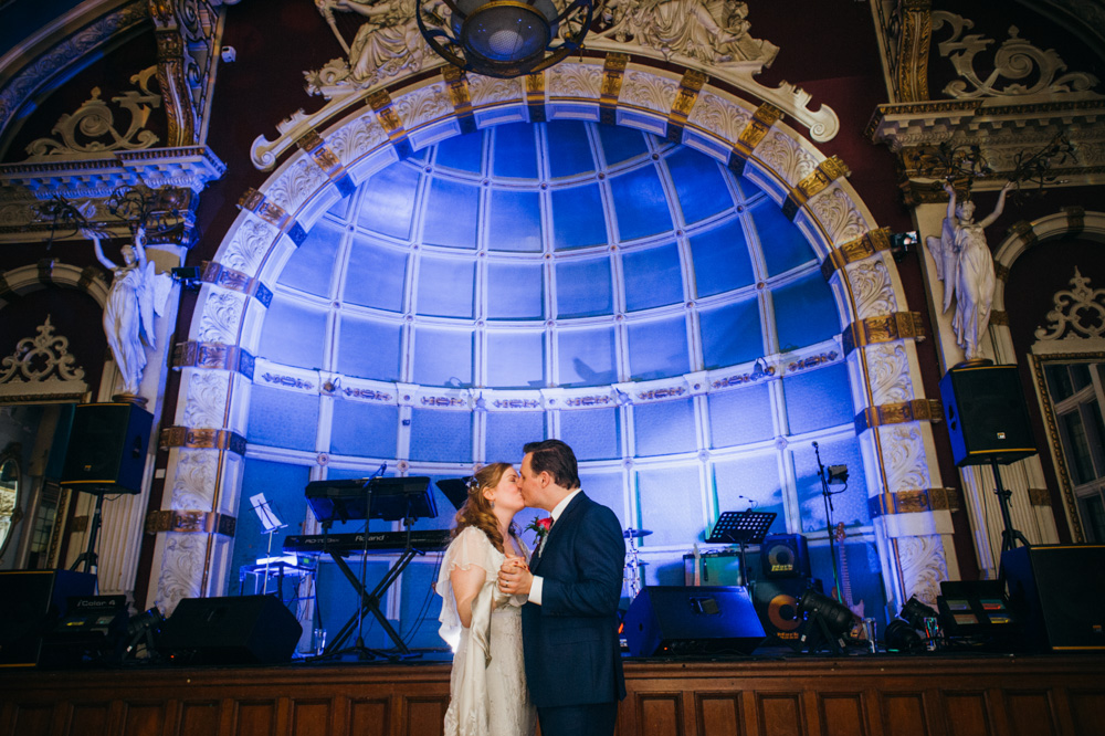 old finsbury town hall wedding photography london quirky alternative photographer-107