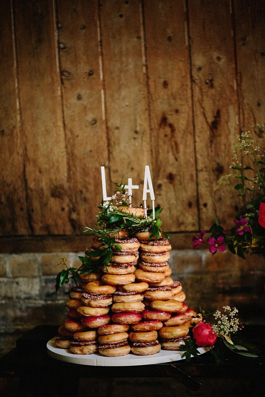 Hochzeitstorte Donuts