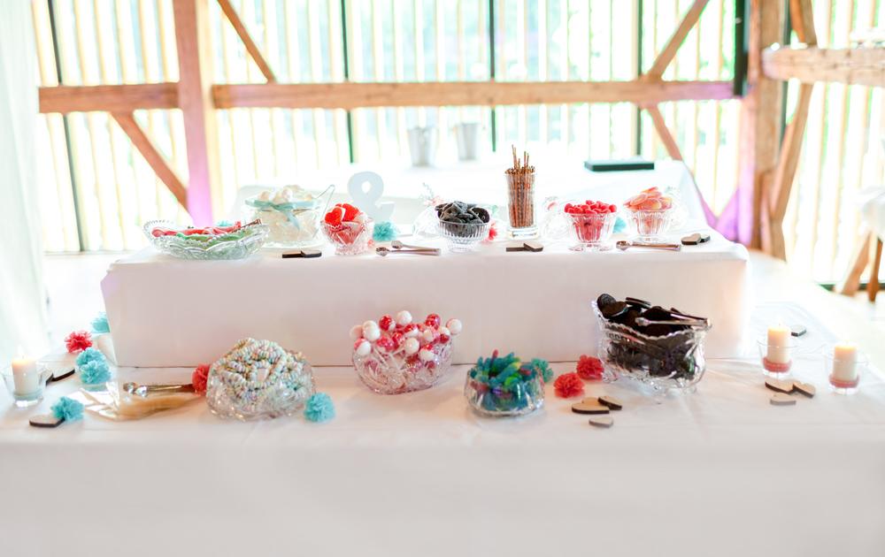 Vintage Hochzeit Candy Bar
