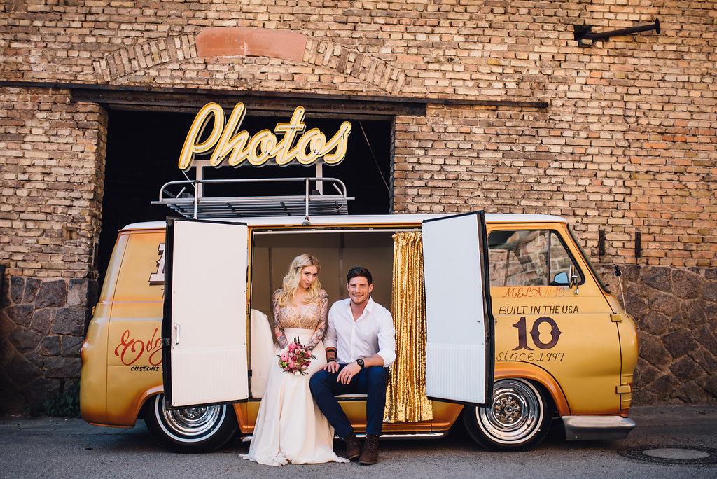 Photo Booth Hochzeit Van