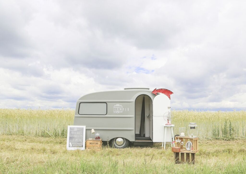 Photo Booth Wohnwagen Camper