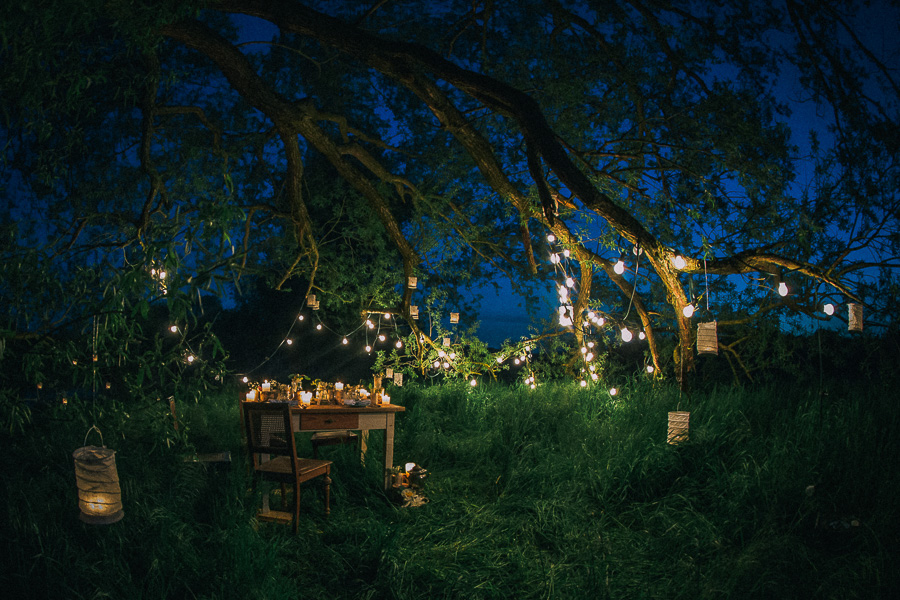 Märchenhafte Lichter-Inspiration im Boho-Stil