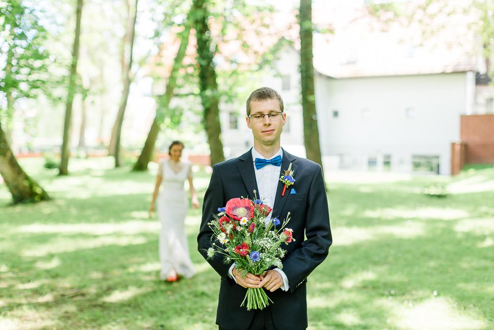Brautstrauß Klatschmohn