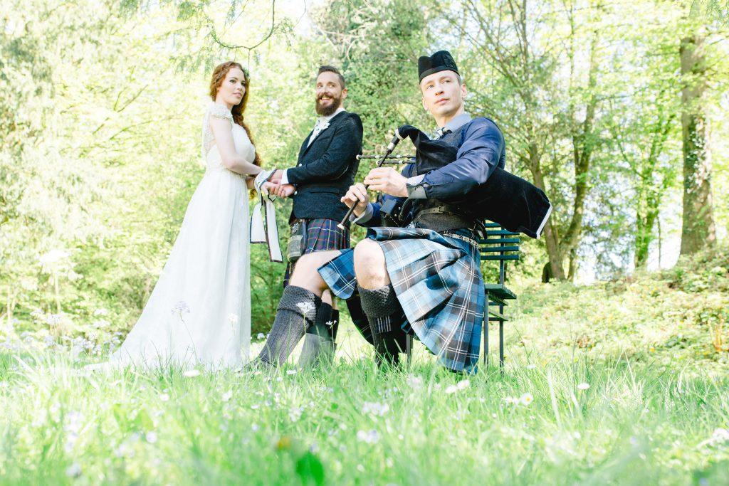 Eine schottische Highland Hochzeit