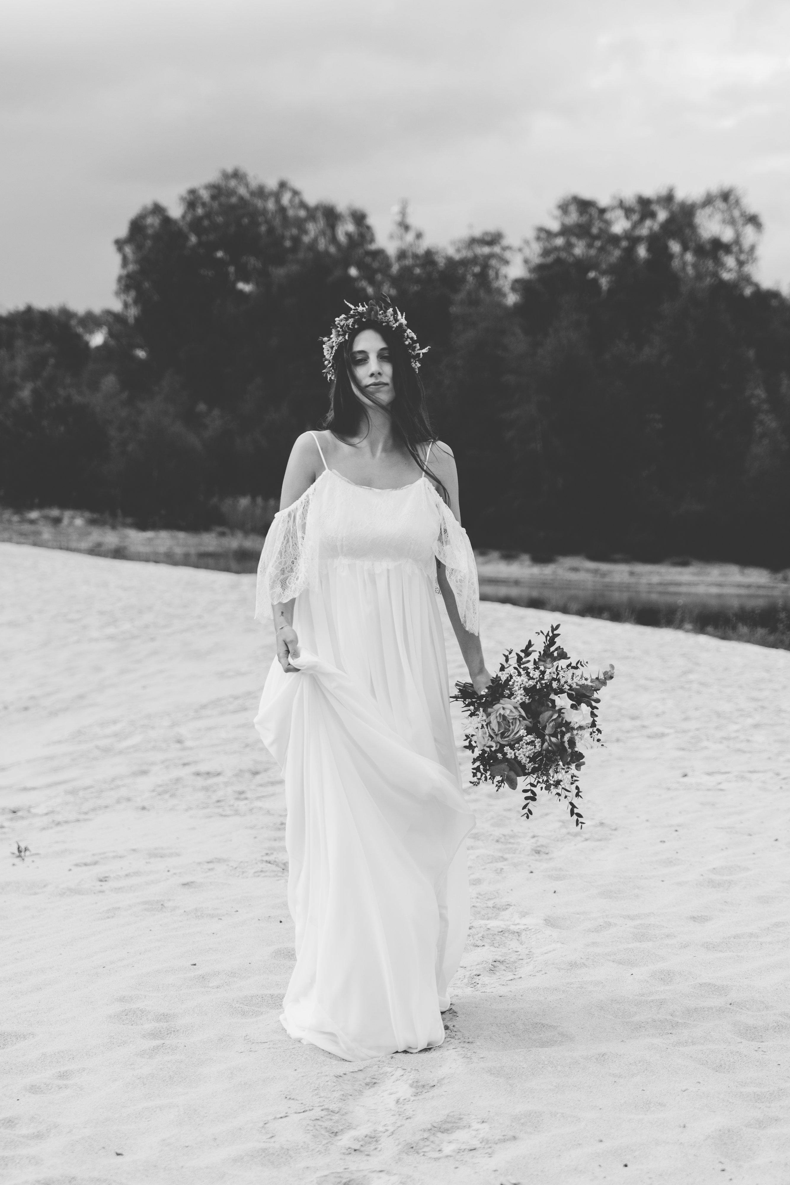 Brautkleid Boho Hochzeit