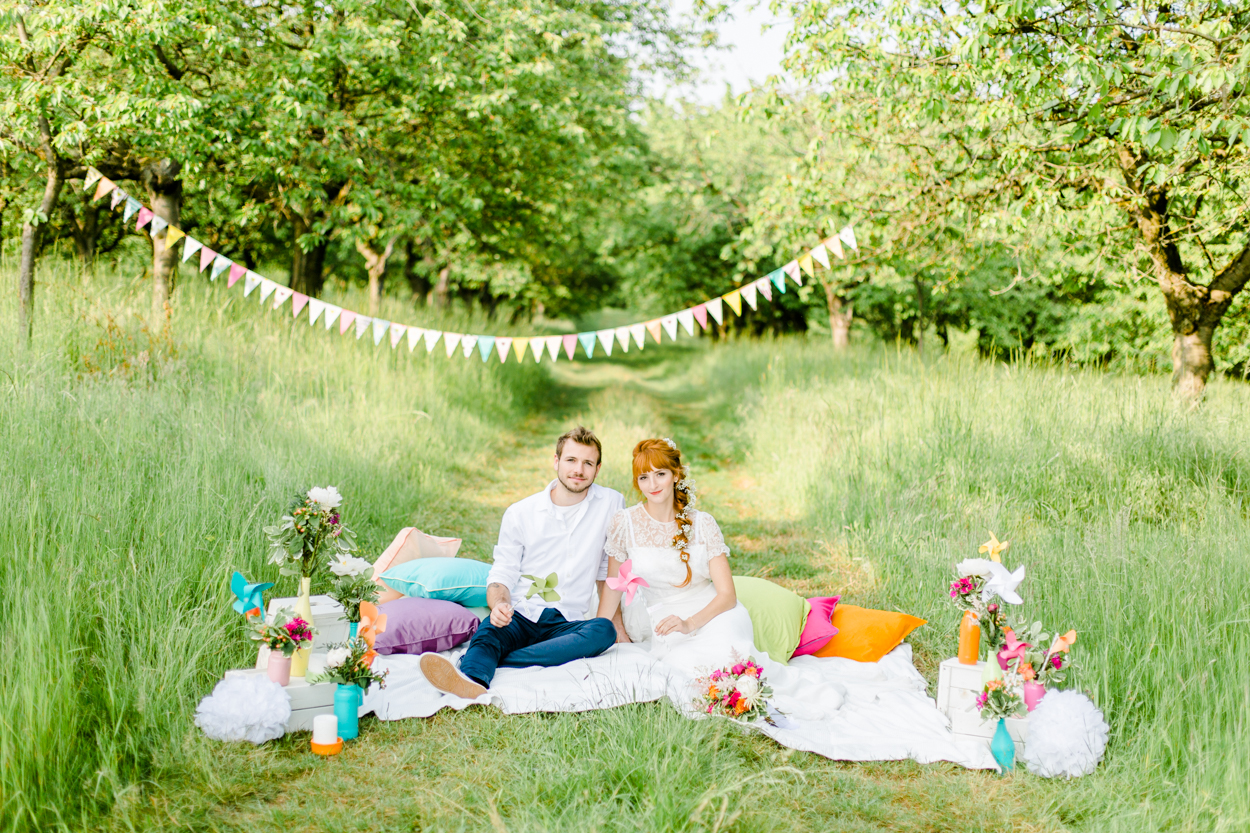 DIY Hochzeit Sommer